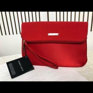 Giorgio Armani makeup pouch/ clutch